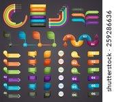 vector illustration of tablets... | Shutterstock .eps vector #259286636