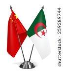 Постер, плакат: China and Algeria