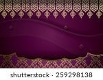 asian traditional art design... | Shutterstock .eps vector #259298138