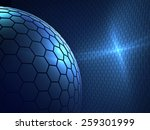 mobile world   modern abstract... | Shutterstock . vector #259301999