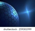 mobile world   modern abstract... | Shutterstock . vector #259301999
