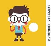 character illustration design.... | Shutterstock . vector #259332869