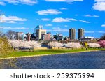 Boston, Massachusetts cityscape. - stock photo