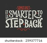 "poster with quote ""sometimes it ... 