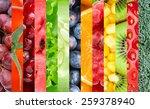 healthy food background.... | Shutterstock . vector #259378940
