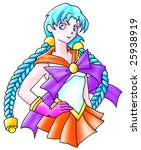 school girl   Shutterstock . vector #25938919