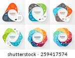 vector circle geometric... | Shutterstock .eps vector #259417574