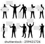 vector illustration of male... | Shutterstock .eps vector #259421726