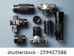 Collection Of Vintage Cameras...