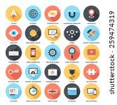 seo and development  | Shutterstock .eps vector #259474319