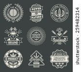 Retro Design Insignias...