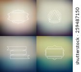 instagram filter colors style... | Shutterstock .eps vector #259487150