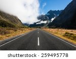 road through mountains in new... | Shutterstock . vector #259495778