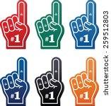 Foam Finger   We're  1 Icon