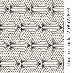 vector seamless pattern. modern ... | Shutterstock .eps vector #259525874