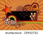 stars with frame. | Shutterstock .eps vector #25952722