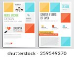 medical brochure design... | Shutterstock .eps vector #259549370