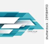 slanting lines motion moving... | Shutterstock .eps vector #259584953