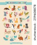 Alphabet   Animal Vector Set....