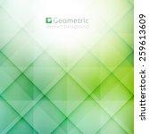 vector geometric abstract... | Shutterstock .eps vector #259613609
