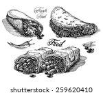 burritos vector logo design...   Shutterstock .eps vector #259620410