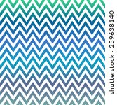 Blue And Green Chevron Pattern...