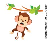 Mischievous Monkey. Monkey...