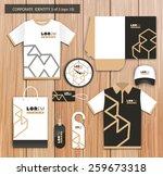 vector white promotional... | Shutterstock .eps vector #259673318