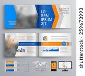 dynamic brochure template...   Shutterstock .eps vector #259673993