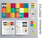 creative brochure template... | Shutterstock .eps vector #259677113
