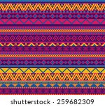 bright vector seamless pattern... | Shutterstock .eps vector #259682309