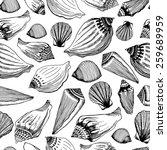 Sea Shells Seamless Pattern....