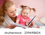 Happy Mother Read A Book To...