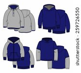sketches hoodies for your... | Shutterstock .eps vector #259726550