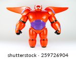 robot baymax from disney movie... | Shutterstock . vector #259726904