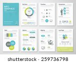fresh infographics vector... | Shutterstock .eps vector #259736798