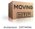 moving box translocation move... | Shutterstock . vector #259744946