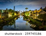 Houses Along The Venice Canals...