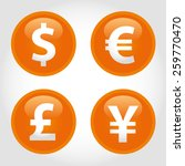 The Currency Signs Of Dollar ...