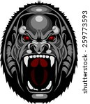 gorilla mascot   Shutterstock .eps vector #259773593