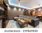 modern living room interior | Shutterstock . vector #259869830