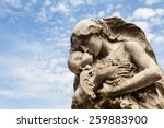 Cemetery Statue In Italy  Made...