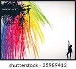 Spectrum Disco Background