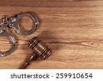 law  legal  concept. | Shutterstock . vector #259910654