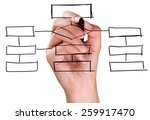 organization  communication ... | Shutterstock . vector #259917470