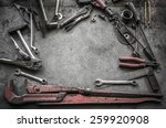 vintage style image of blank...   Shutterstock . vector #259920908