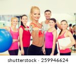 fitness  healthcare and... | Shutterstock . vector #259946624