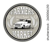 Retro Farming Label  Badge And...