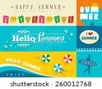 set of flat design banners for...