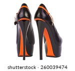 elegant black high heel women... | Shutterstock . vector #260039474